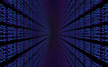Dans cette image représentant un système binaire de 1 et de 0 on peut faire l'analogie avec le langage dans la communication verbale qui est un système de symboles .